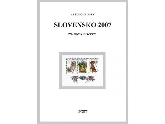 Albumové listy SR 2007 I