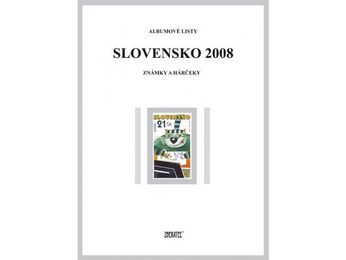 Albumové listy SR 2008 I