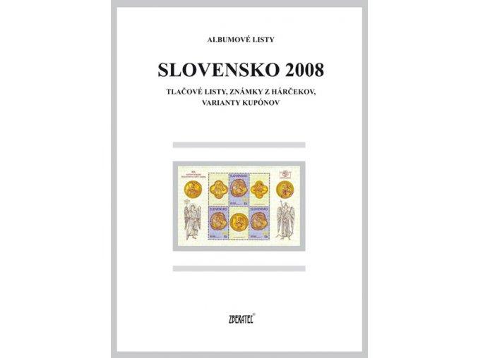 Albumové listy SR 2008 II