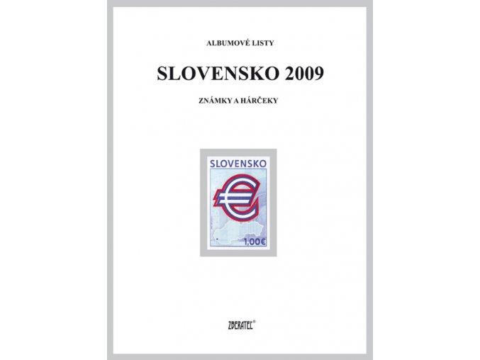 Albumové listy SR 2009 I