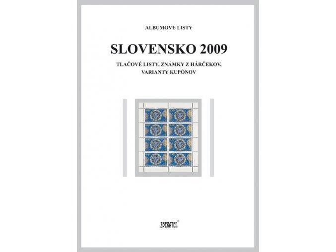Albumové listy SR 2009 II