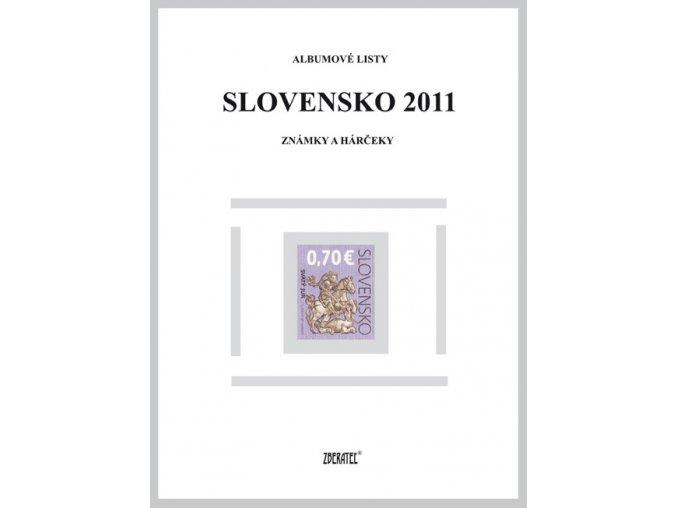 Albumové listy SR 2011 I