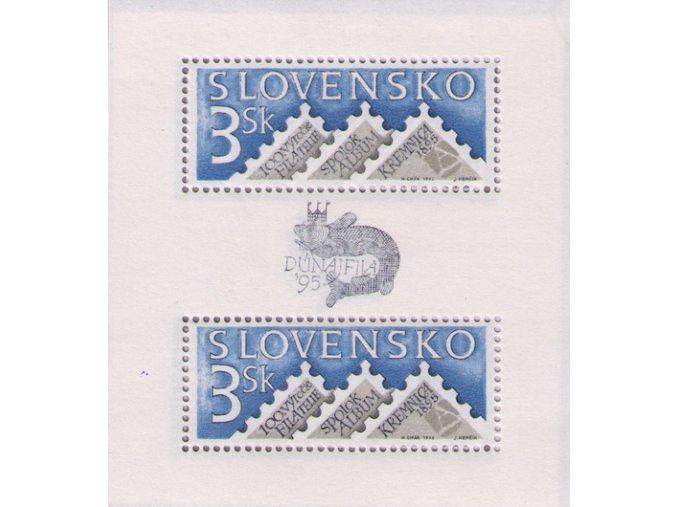 SR 1995 / 069 H / 100. výročie organizovanej filatelie na Slovensku
