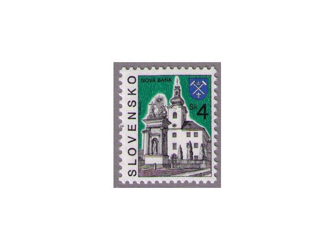 SR 1995 / 070 / Mestá - Nová Baňa