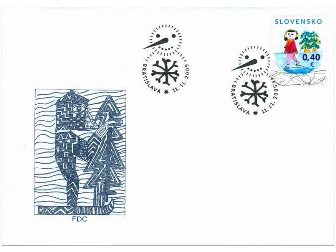 SR 2009 / 463 / Vianoce / FDC