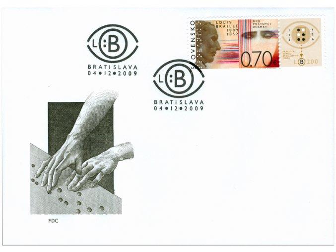 SR 2009 / 466 / Deň poštovej známky / FDC