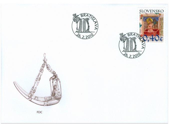 SR 2010 / 470 / Veľká noc / FDC