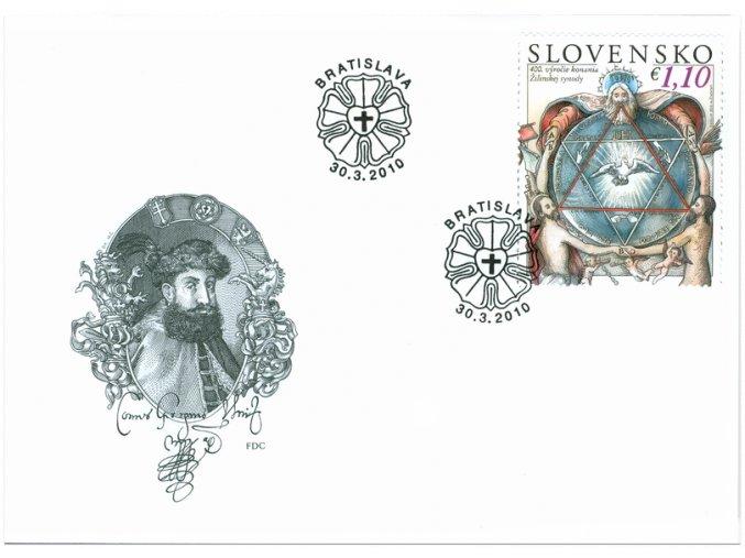 SR 2010 / 472 / 400. výročie Žilinskej synody / FDC