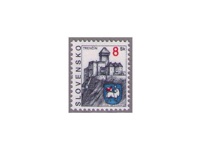 SR 1995 / 077 / Mestá - Trenčín