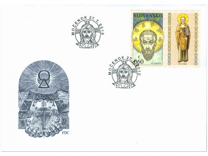 SR 2010 / 478-479 / Svätí Sedempočetníci / FDC (2)