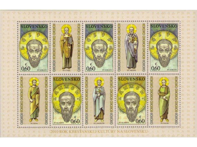 SR 2010 / 478-479 / Svätí Sedempočetníci / PL