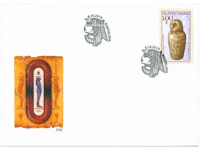 SR 2010 / 481 / Spoločné vydanie s Egyptskou arabskou republikou / FDC