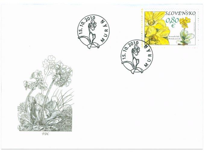 SR 2010 / 482-483 / Ochrana prírody / FDC (2)