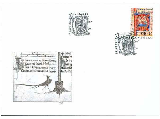 SR 2010 / 484 / Vianoce / FDC