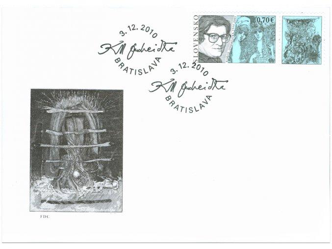 SR 2010 / 488 / Deň poštovej známky / FDC