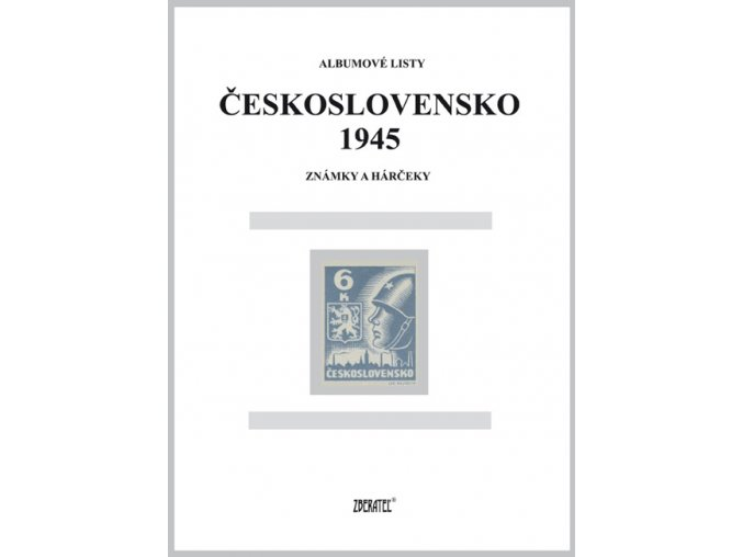 Albumové listy Československo 1945 I