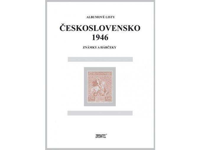 Albumové listy Československo 1946 I