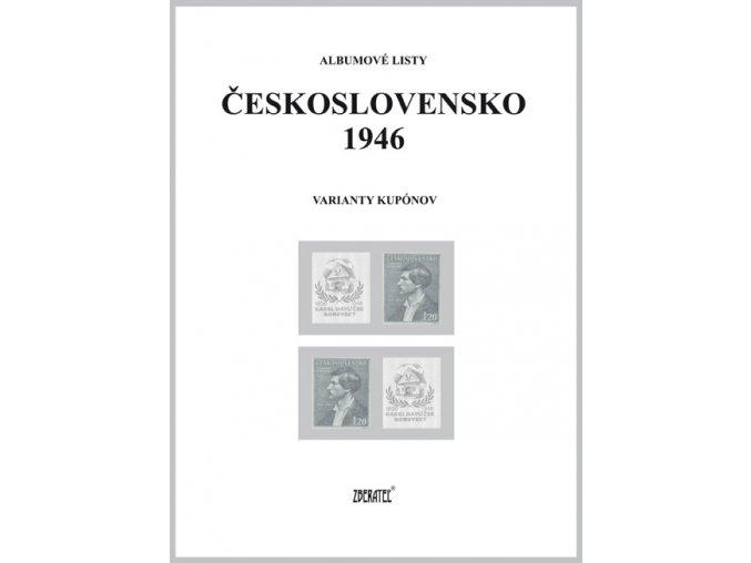 Albumové listy Československo 1946 II
