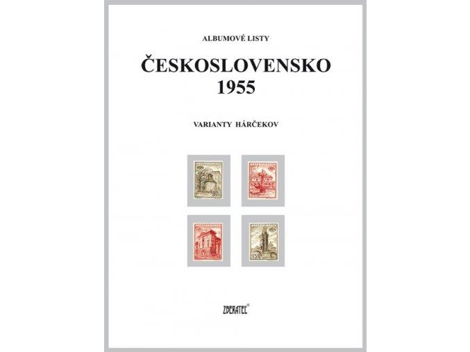 Albumové listy Československo 1955 II