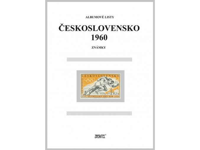 Albumové listy Československo 1960