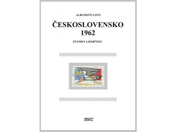 Albumové listy Československo 1962 I