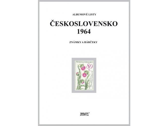 Albumové listy Československo 1964