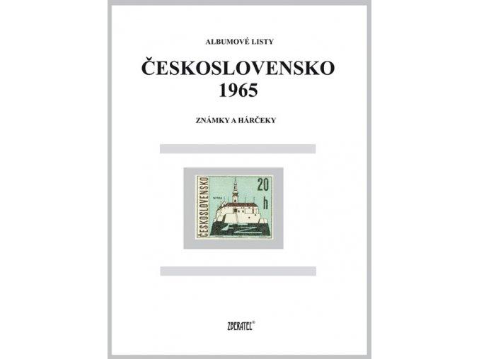 Albumové listy Československo 1965