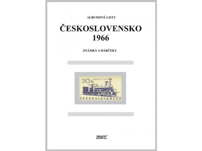 Albumové listy Československo 1966 I