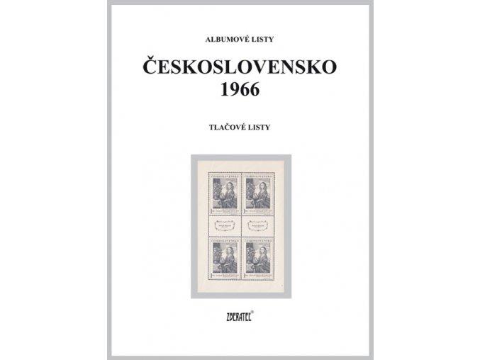 Albumové listy Československo 1966 II