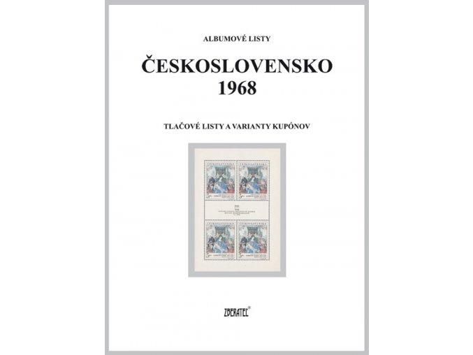 Albumové listy Československo 1968 II