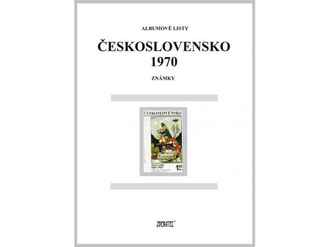 Albumové listy Československo 1970 I