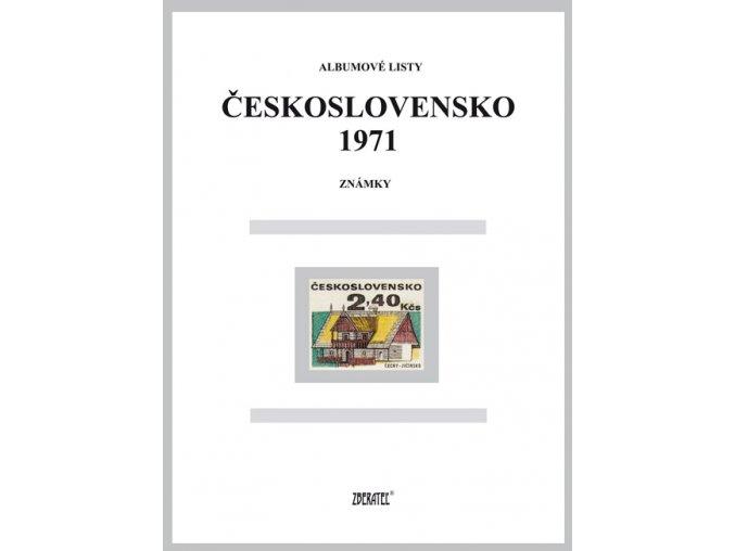 Albumové listy Československo 1971 I
