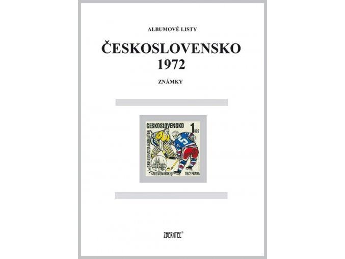 Albumové listy Československo 1972 I