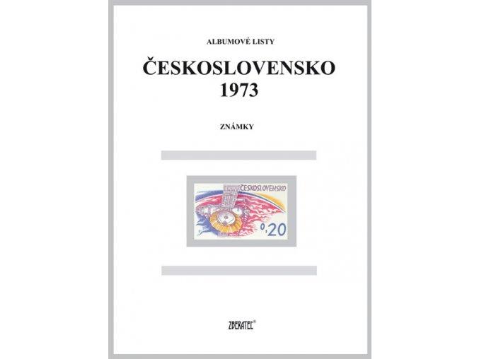 Albumové listy Československo 1973 I