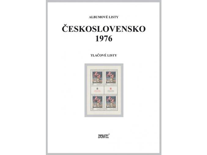 Albumové listy Československo 1976 II