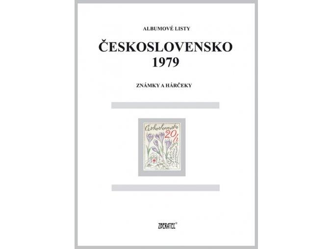 Albumové listy Československo 1979 I