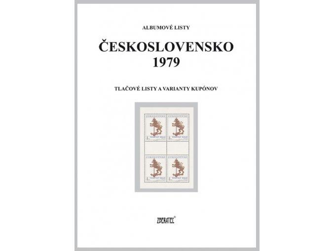 Albumové listy Československo 1979 II