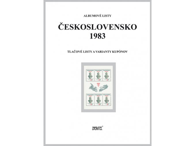 Albumové listy Československo 1983 II