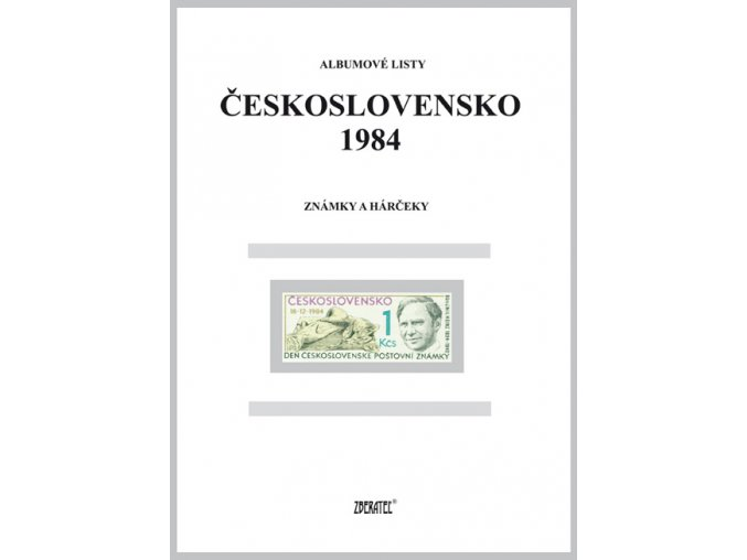 Albumové listy Československo 1984 I