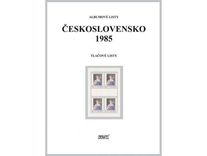 Albumové listy Československo 1985 II