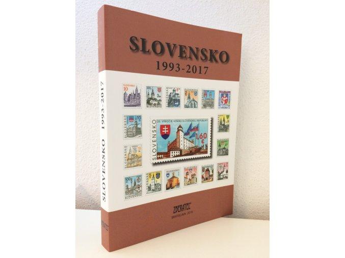 Katalog znamky SR 1993 2017
