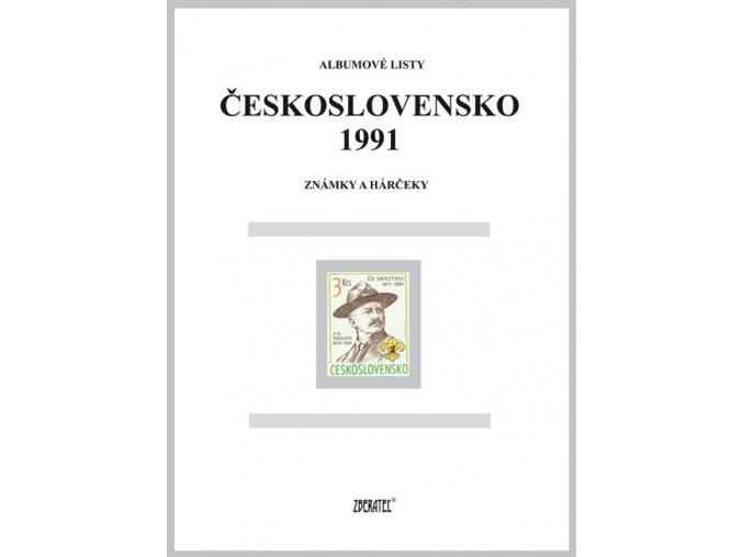 Albumové listy Československo 1991 I