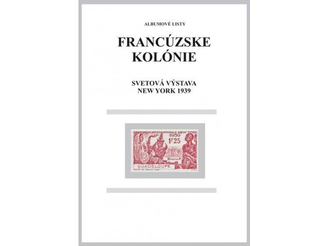 Albumové listy Franc kol 1939 Výstava New York