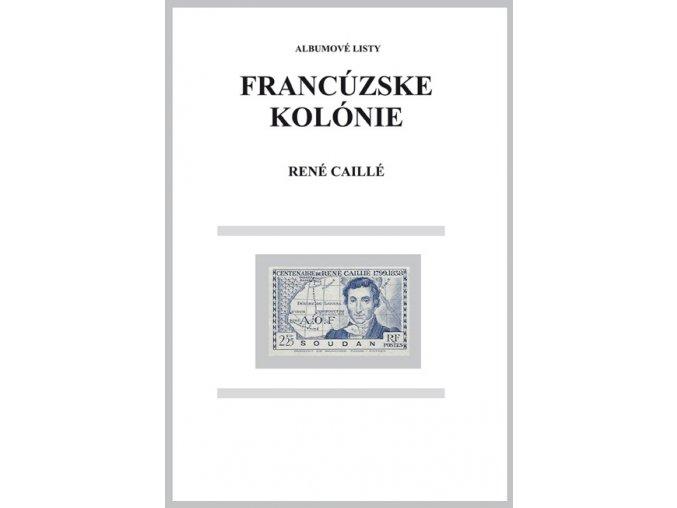 Albumové listy Franc kol 1939 René Caillé
