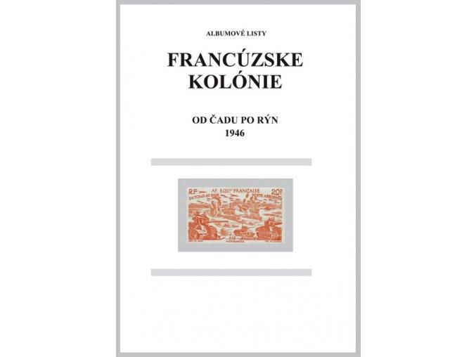 Albumové listy Franc kol 1946 od Čadu po Rýn