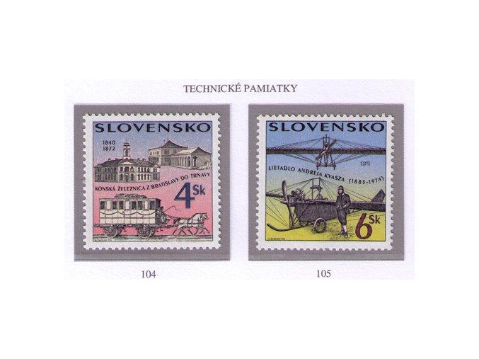 SR 1996 / 104-105 / Technické pamiatky