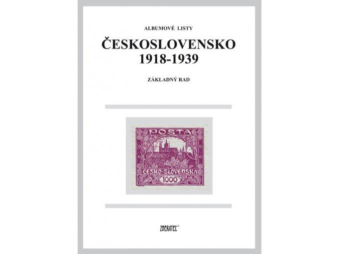 Albumové listy ČSR I výplatné