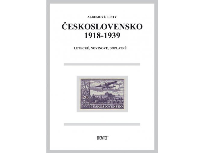 Albumové listy ČSR I Letecké, Novinové, Doplatné...