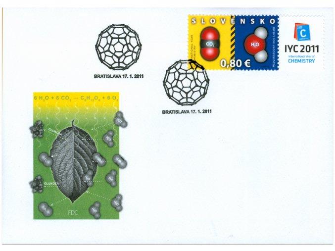 SR 2011 / 489 / Medzinárodný rok chémie FDC