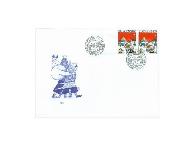 SR 1996 / 106 / Vianoce FDC